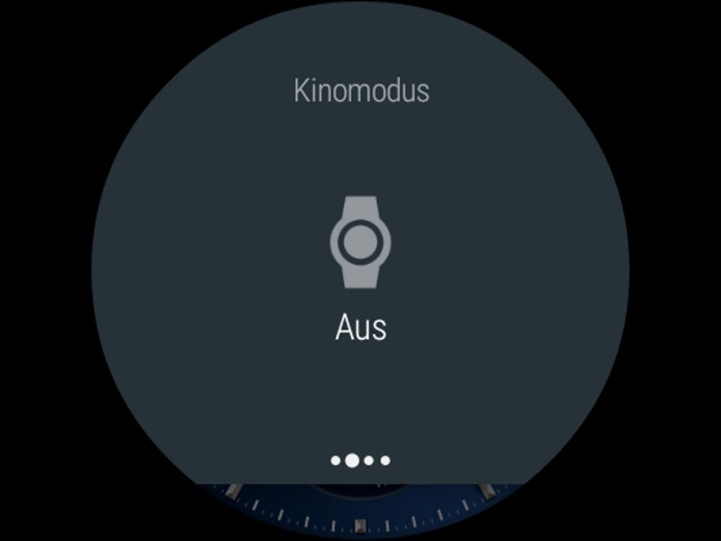 Android Wear Kinomodus