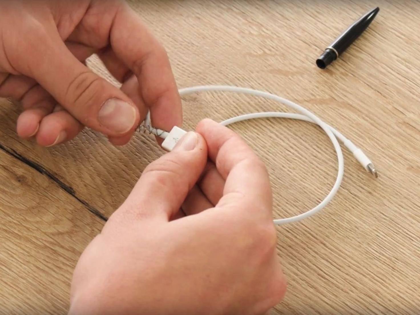 Lightning-Kabel schützen