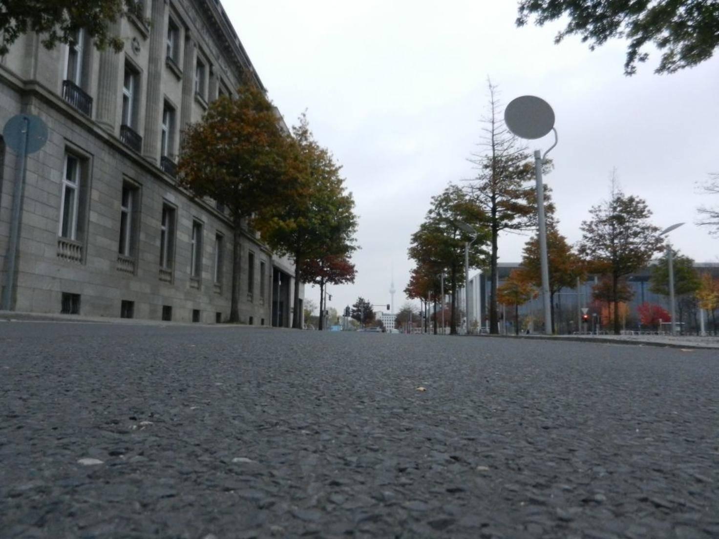 Auf glatten Straßen wird die Racing Drone richtig schnell.