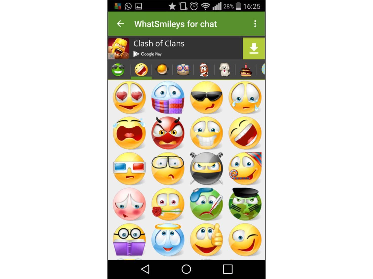 Mehr Smileys Für Whatsapp