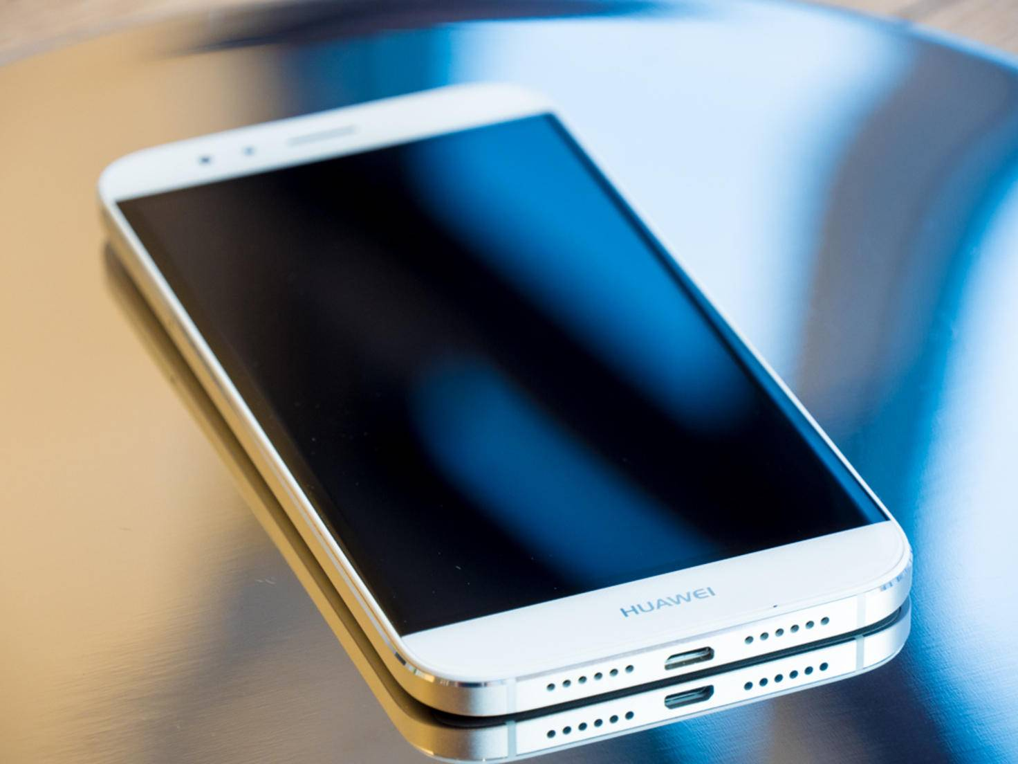 Das Huawei G8 macht einen schicken Eindruck.