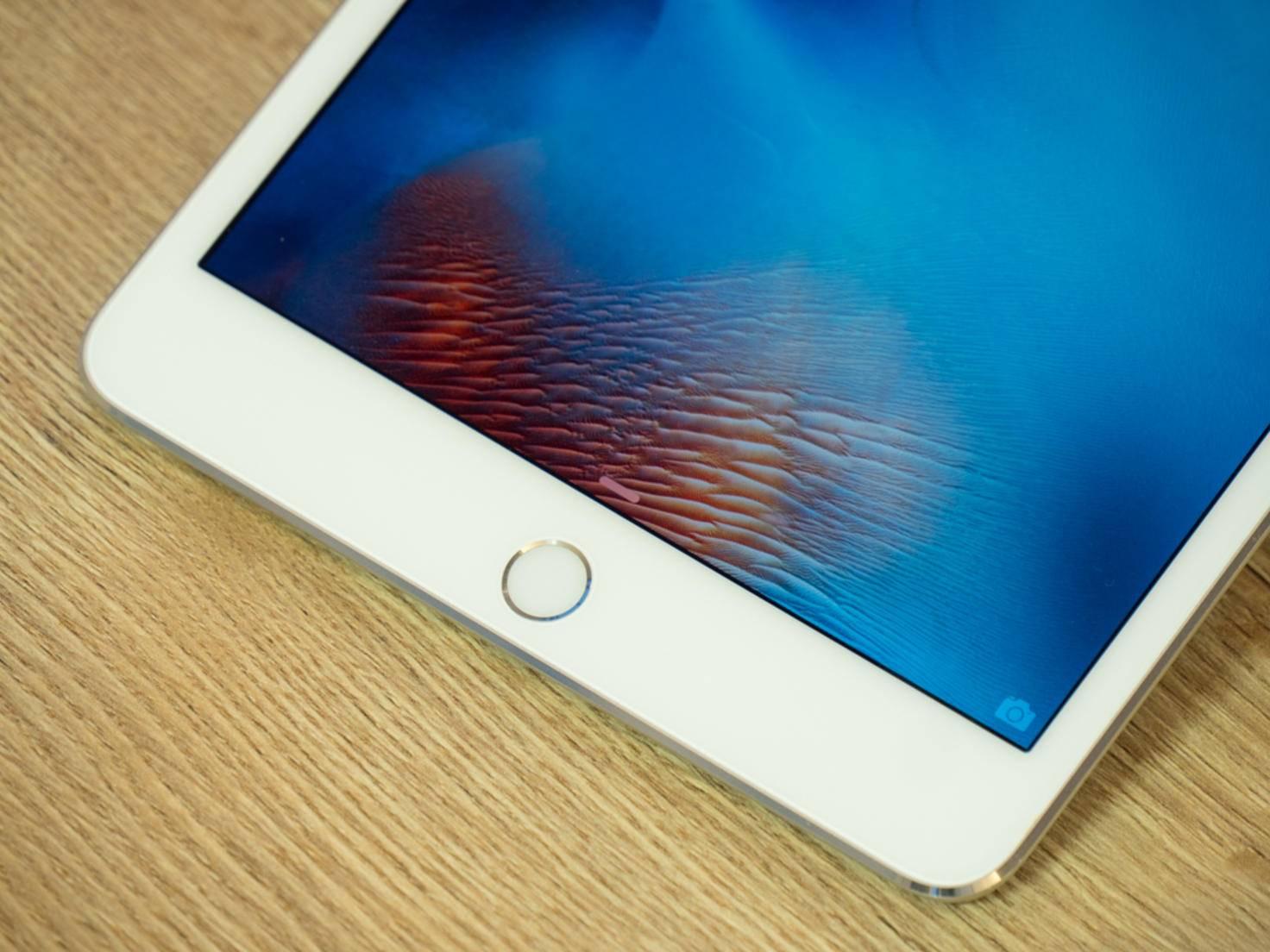 Touch ID ist auch beim iPad mini 4 wieder an Bord.