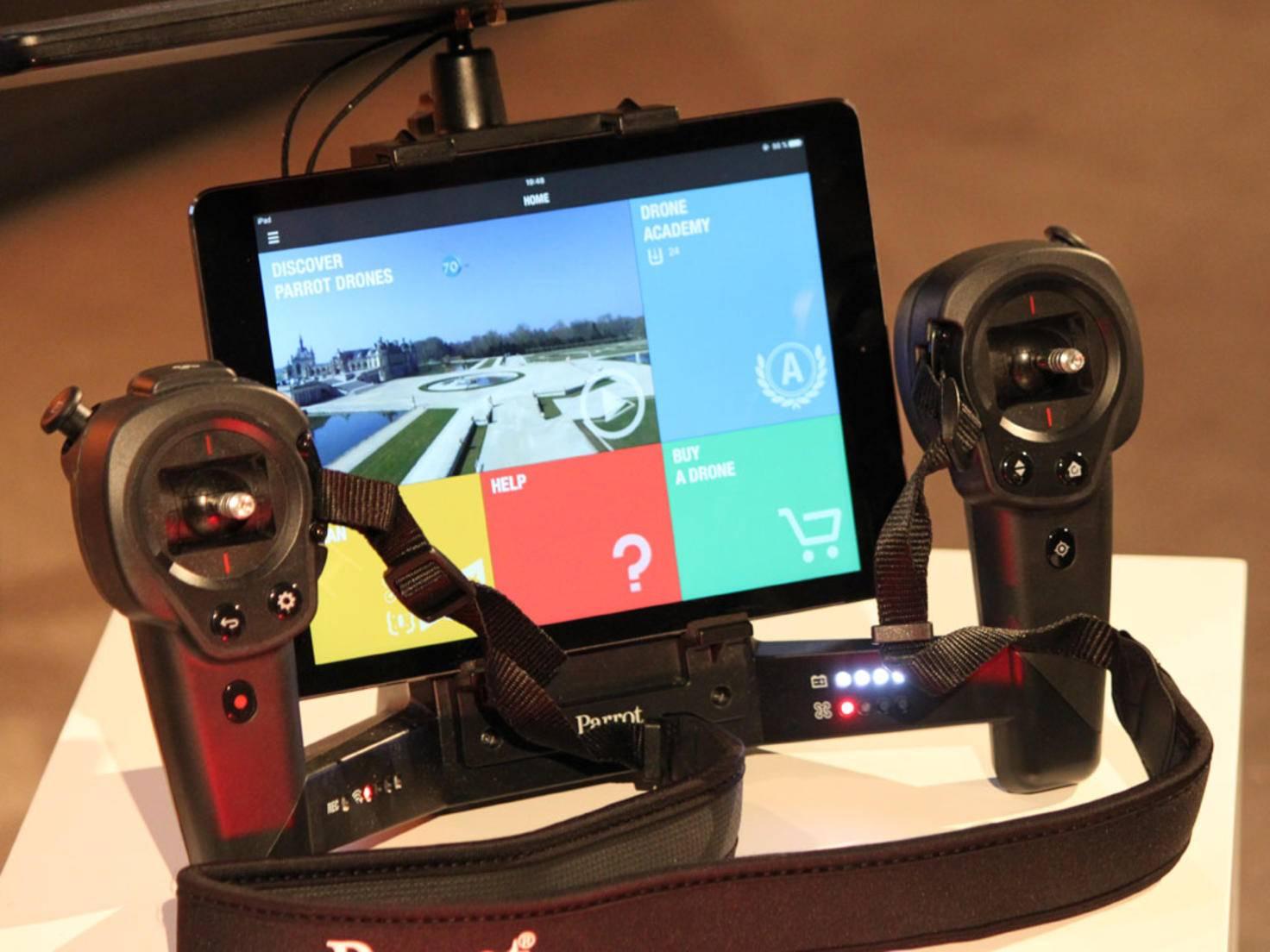 Der Skycontroller erscheint in einer speziellen Black Edition.