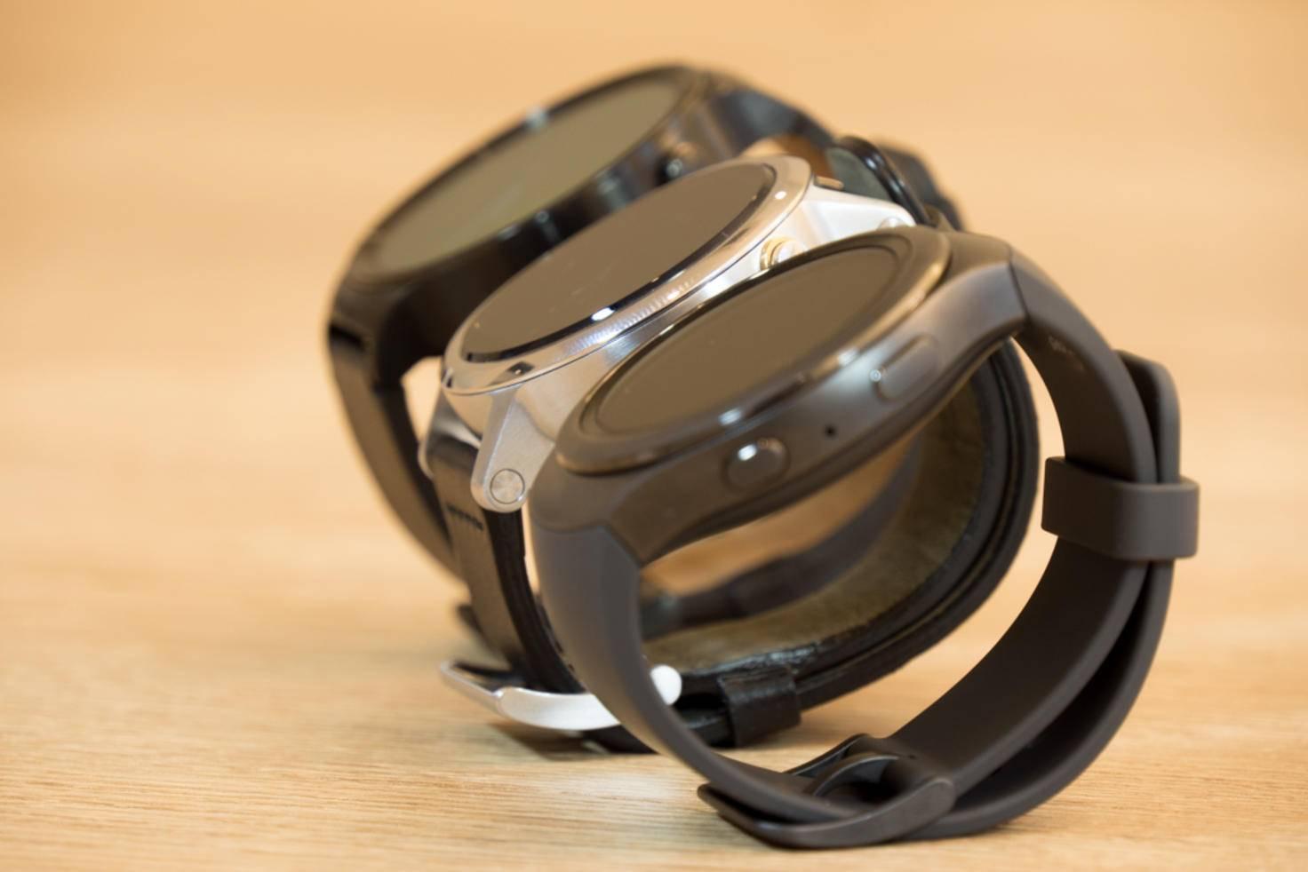 Im Gegensatz zu Apple setzen Huawei, Motorola und Samsung aktuell auf ein rundes Design.