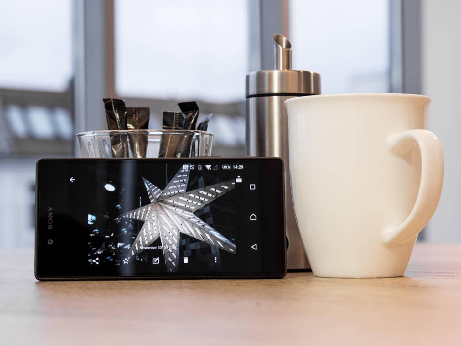 Das Xperia Z5 wird vor allem mit seiner Kamera beworben.