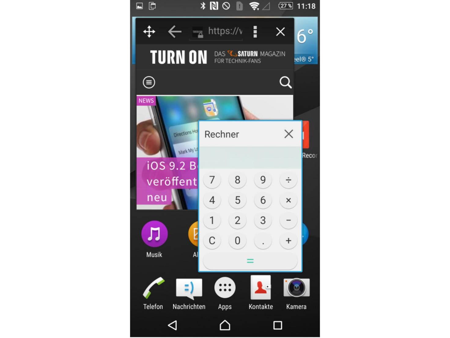 Sony Xperia Z5 Screenshot 7