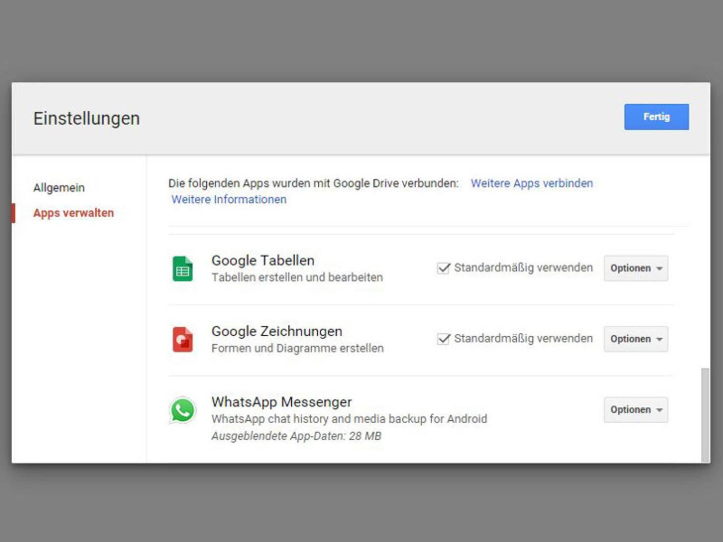 WhatsApp_GoogleDrive_löschen