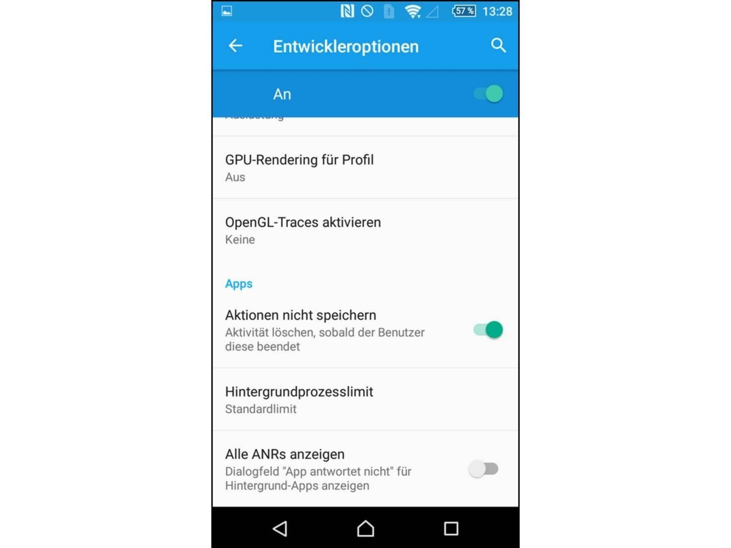 Android 8 apps im hintergrund beenden