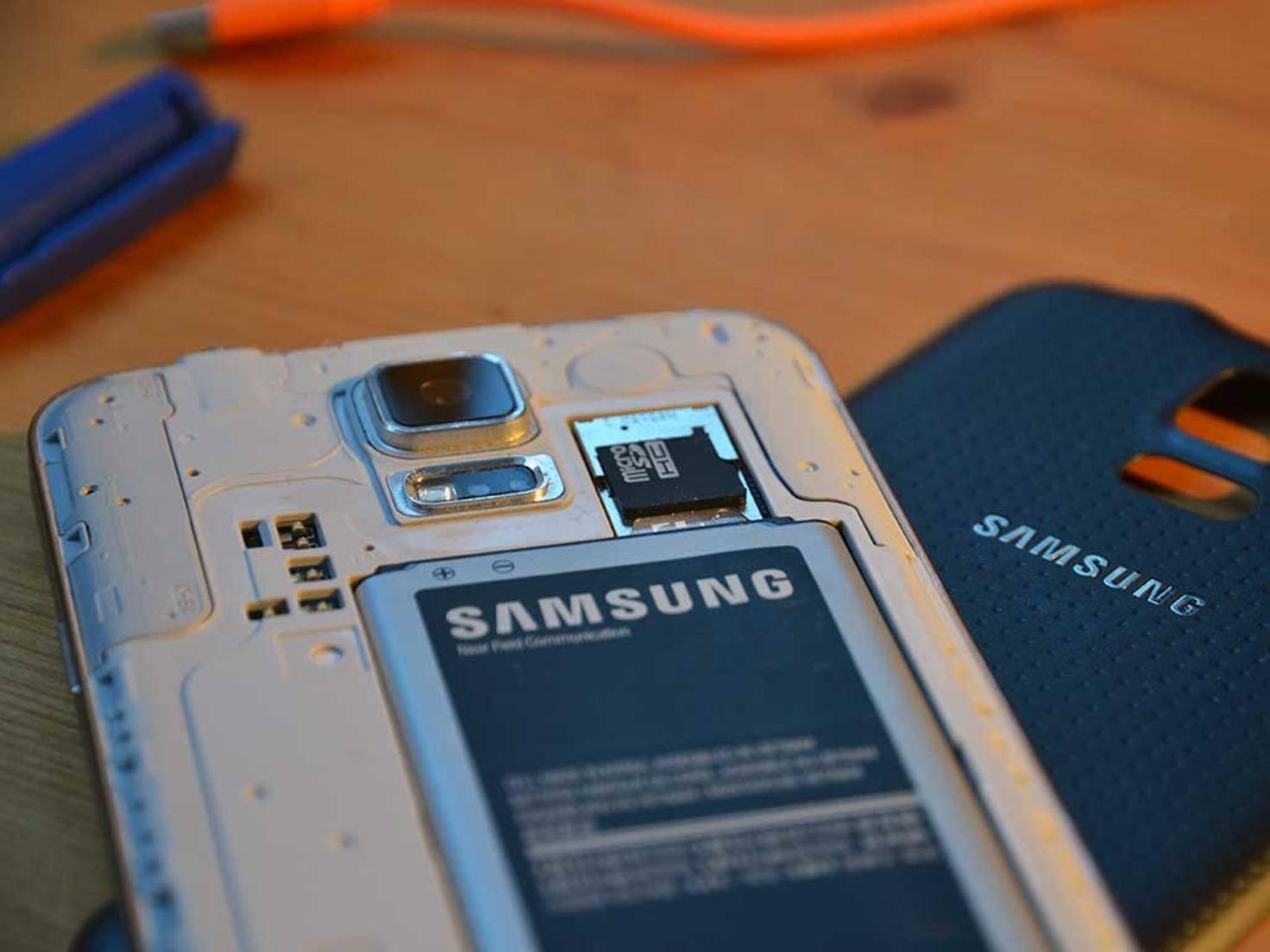 SD-Karte im Samsung Galaxy S7?
