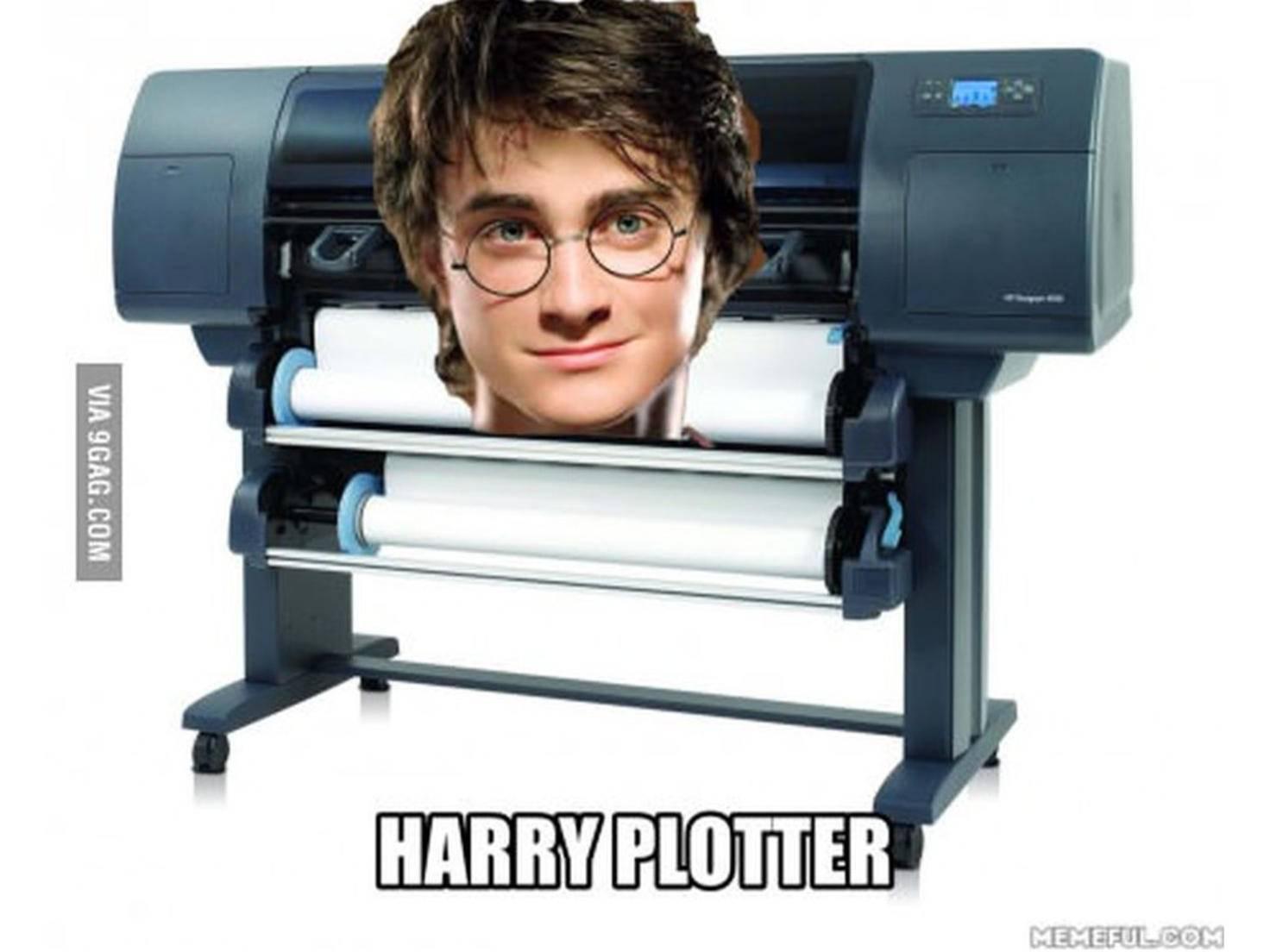 Digitale statt analoger Post? Dann ist Harry Plotter wohl bald arbeitslos.