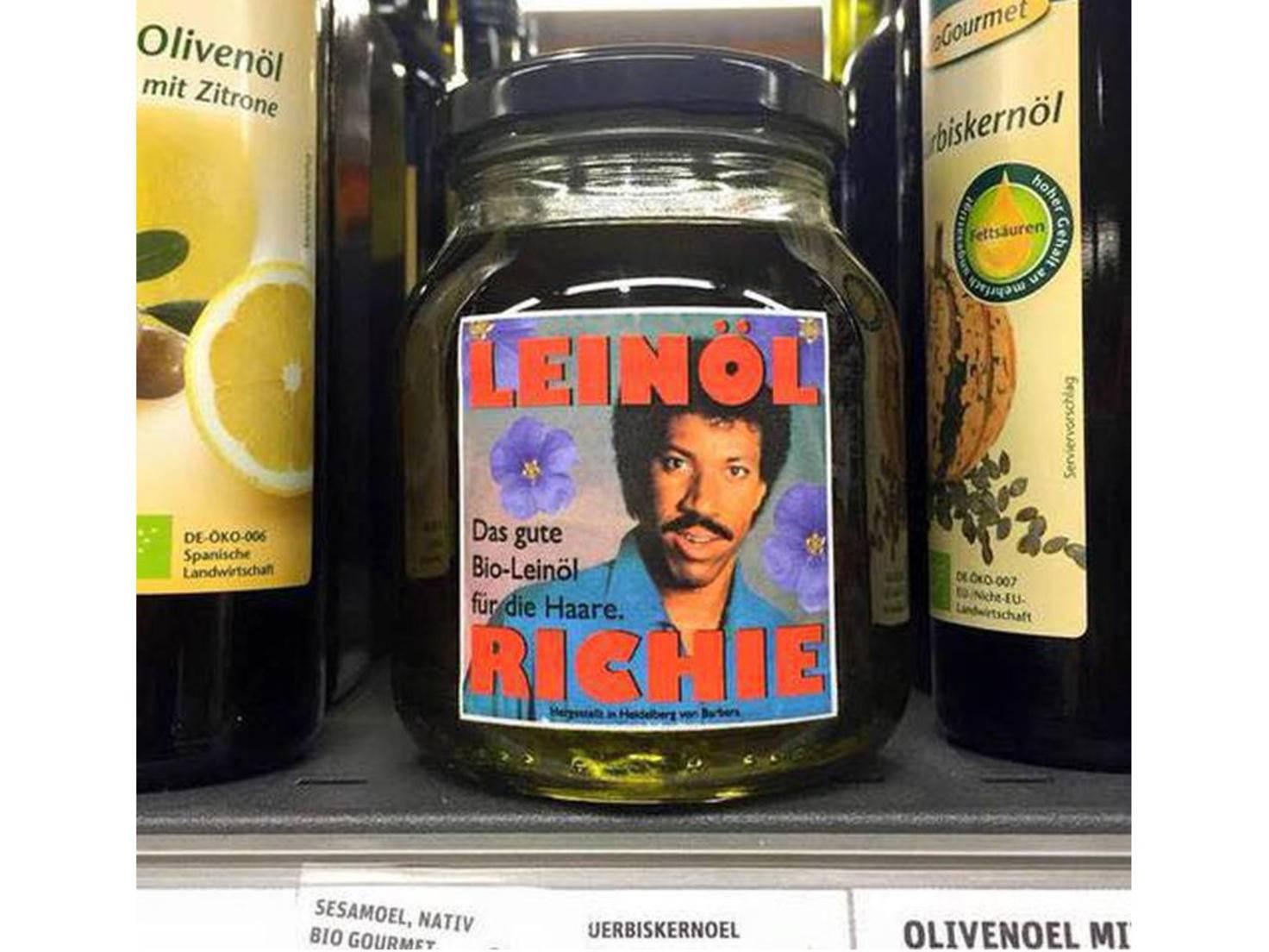 Das geht immer runter wie Leinöl Richie.