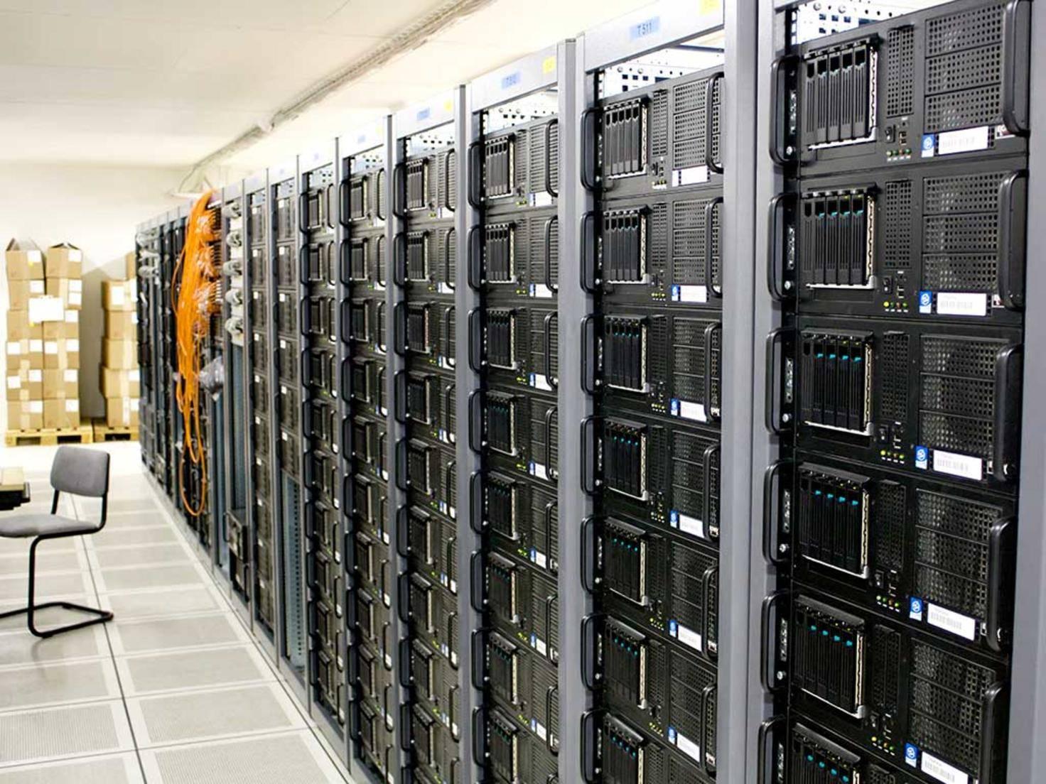 Private Cloud Serverraum