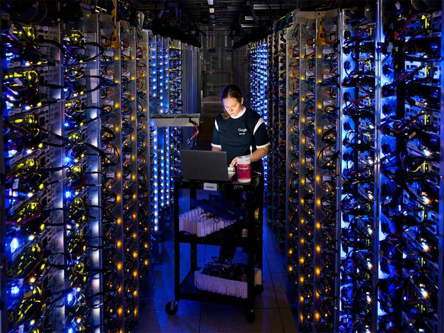 Private Cloud: Google Rechenzentrum Server in The Dalles, Oregon