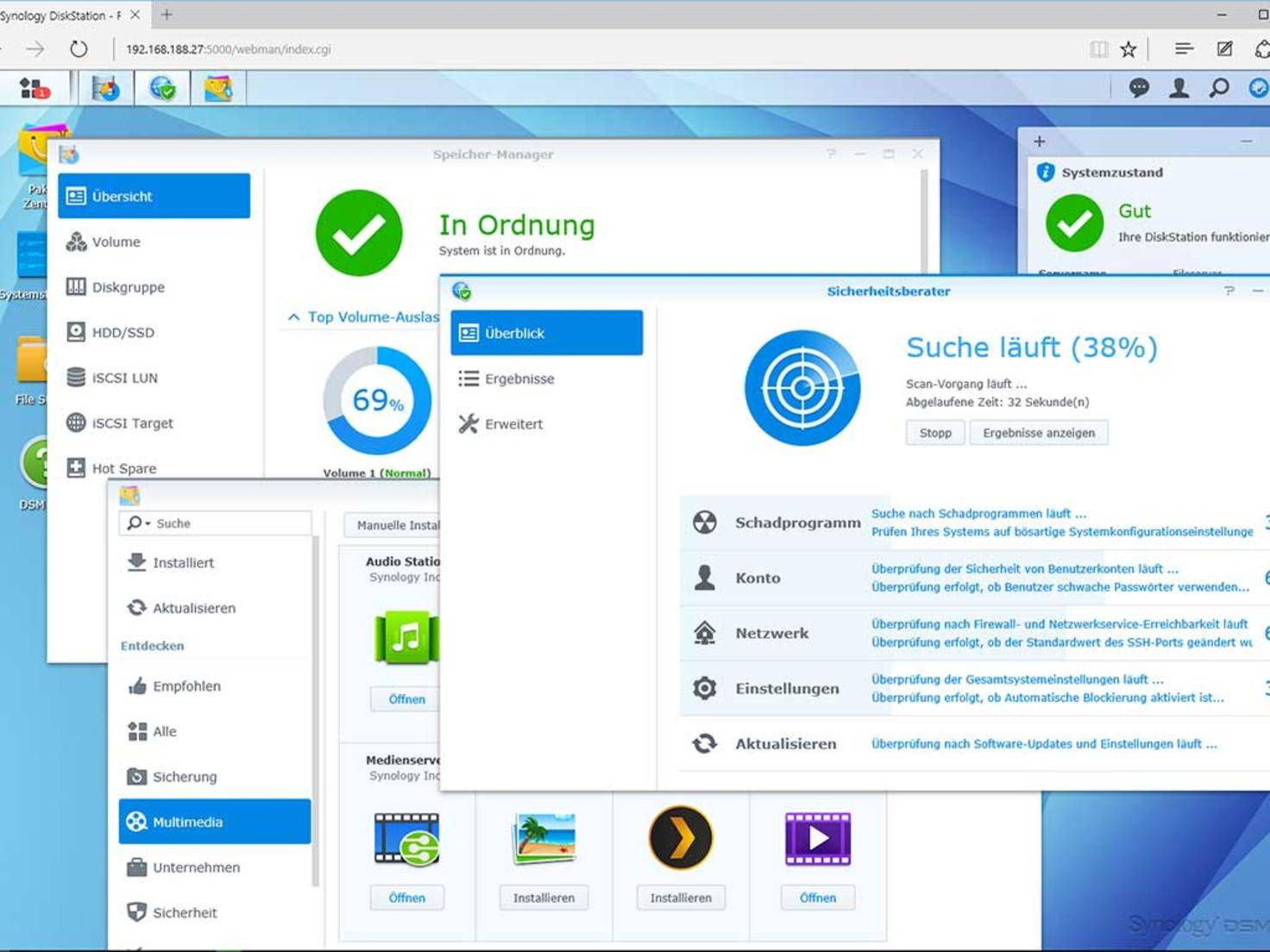 Private Cloud Synology DSM