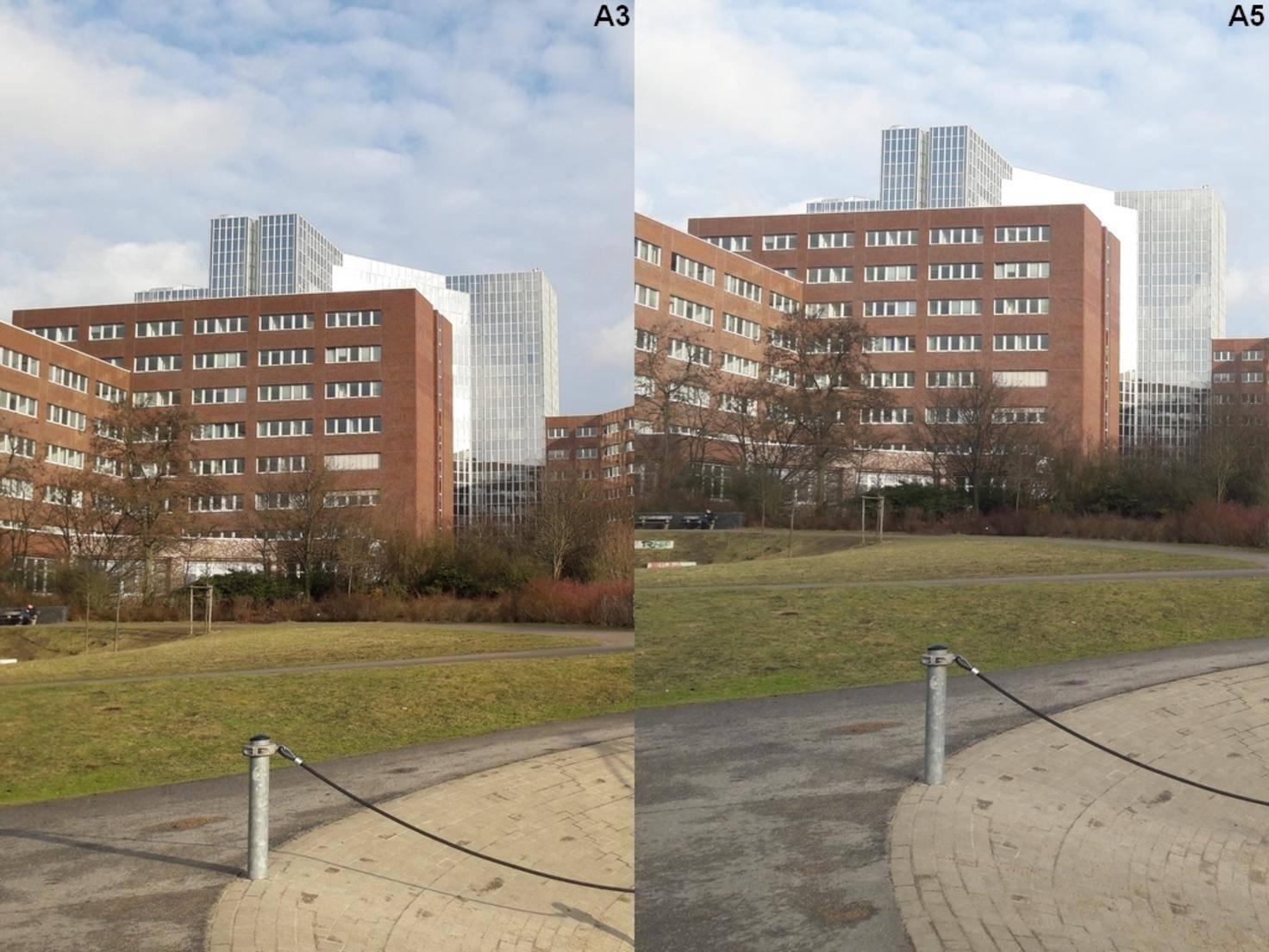 Im direkten Vergleich zeigt sich: Bei der Foto-Qualität gibt es keine Unterschiede.