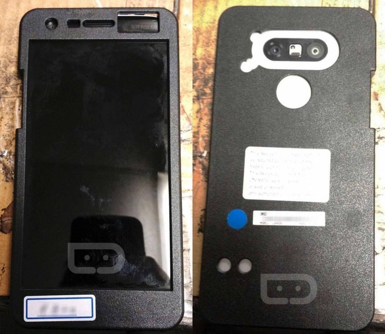 Die Rückseite zeigt eine neu gestaltete Kamera.