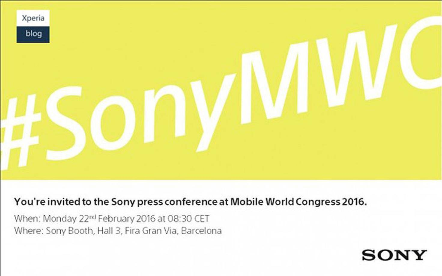 MWC-2016-Sony