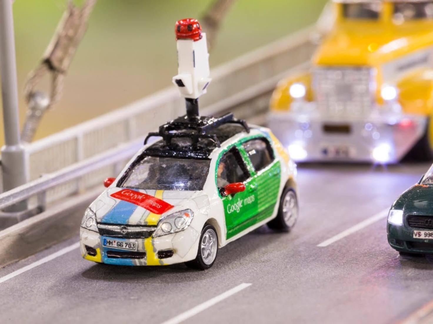 Mit Google Street View kann man jetzt auch das Miniaturwunderland erleben.