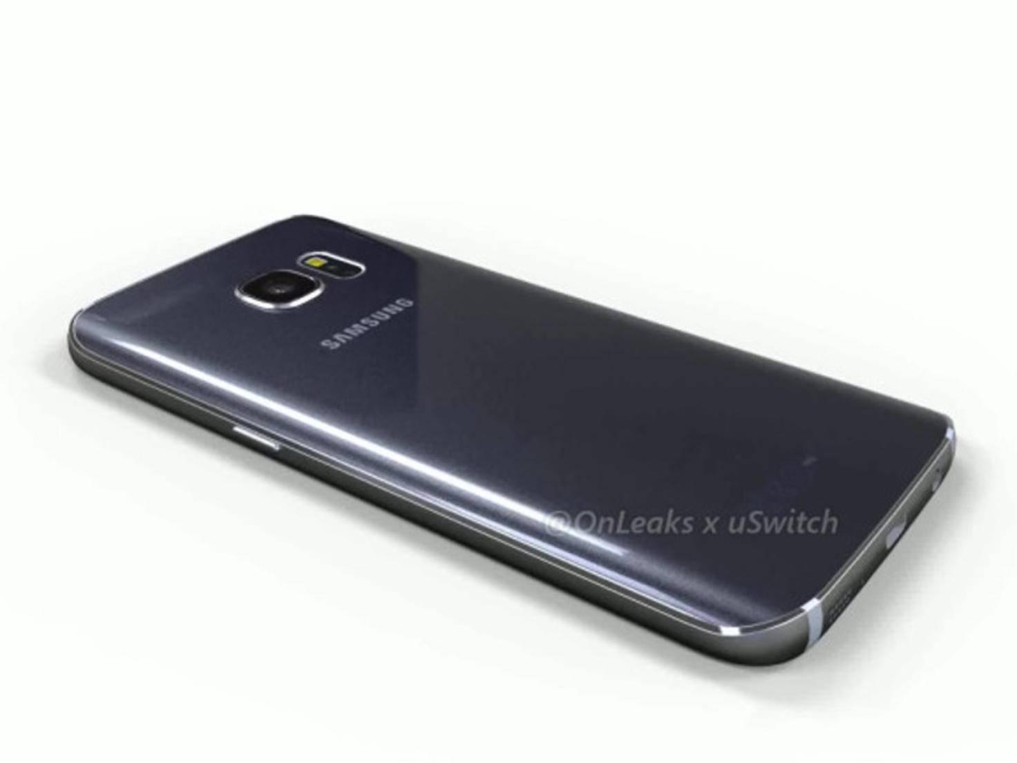 Die Rückseite ähnelt der des Galaxy Note 5.