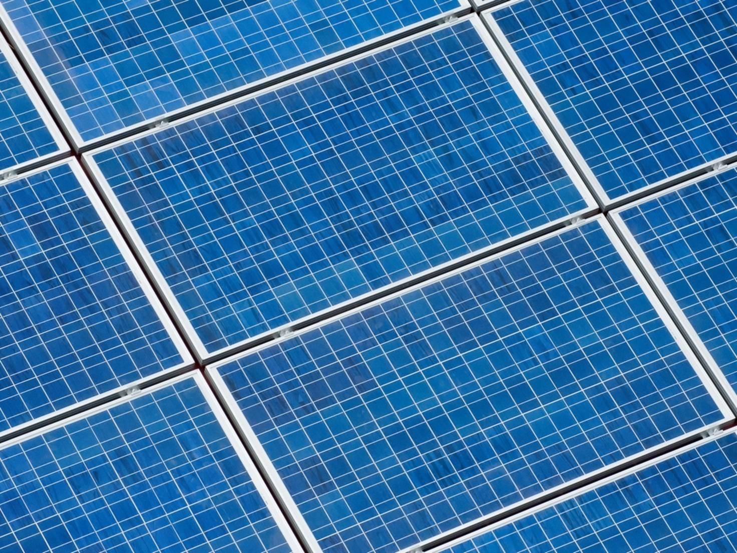 Wayne National Forest Solar Panel Construction