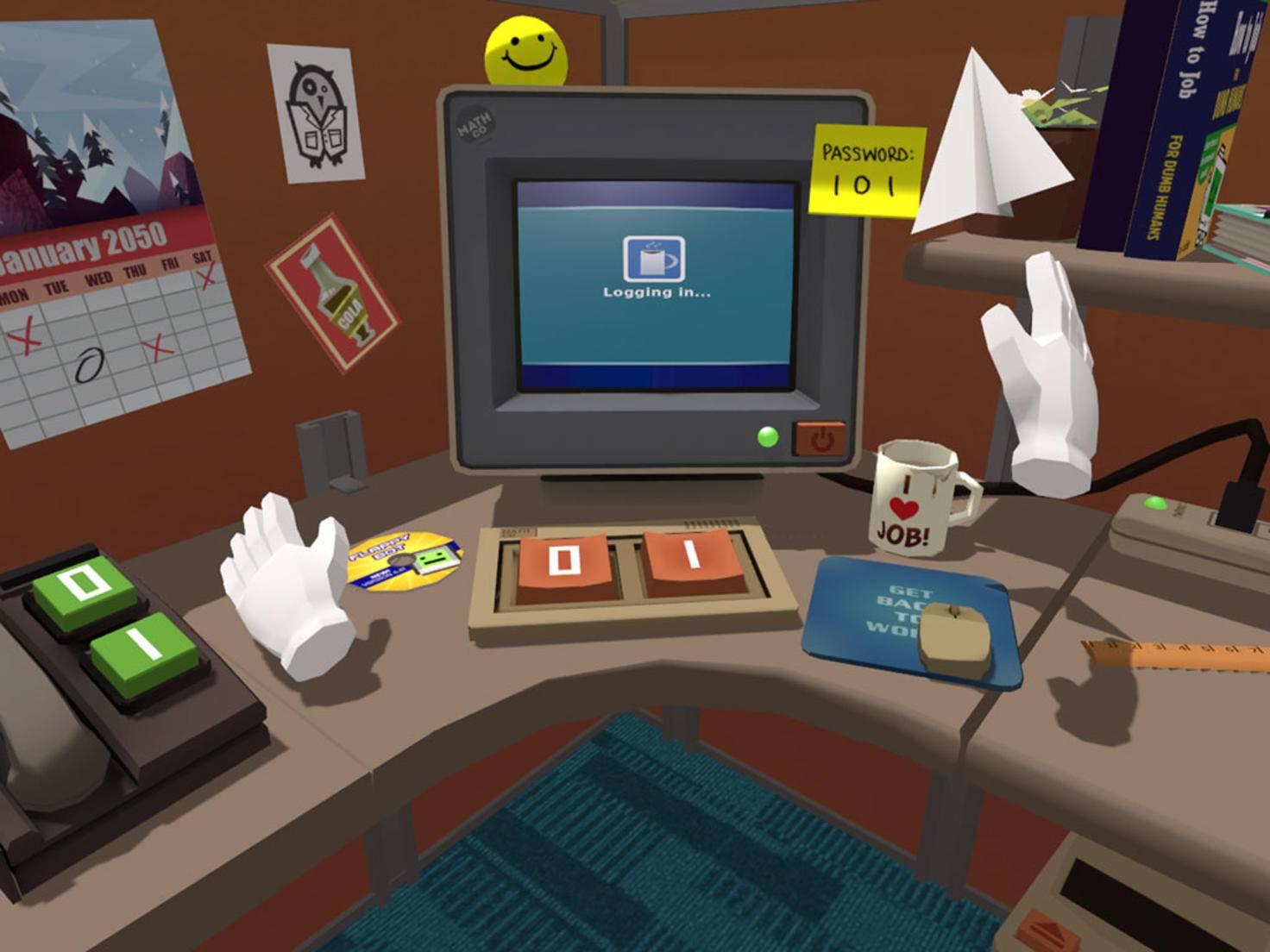 ... und in einer Bürosimulation zeigt das Gerät seine Fähigkeiten ebenso wie ...