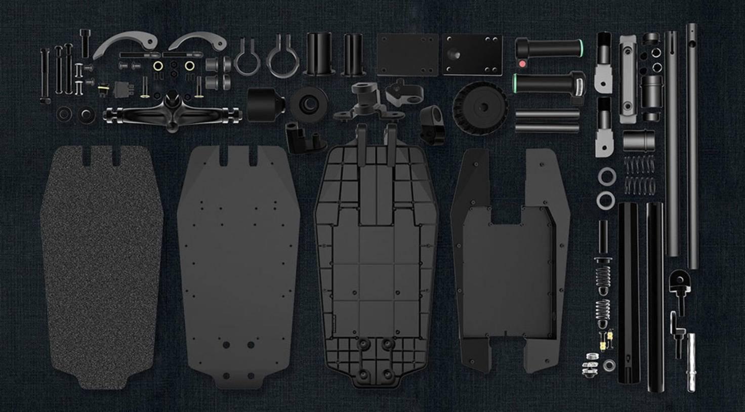 Kickstarter Zar Elektroroller