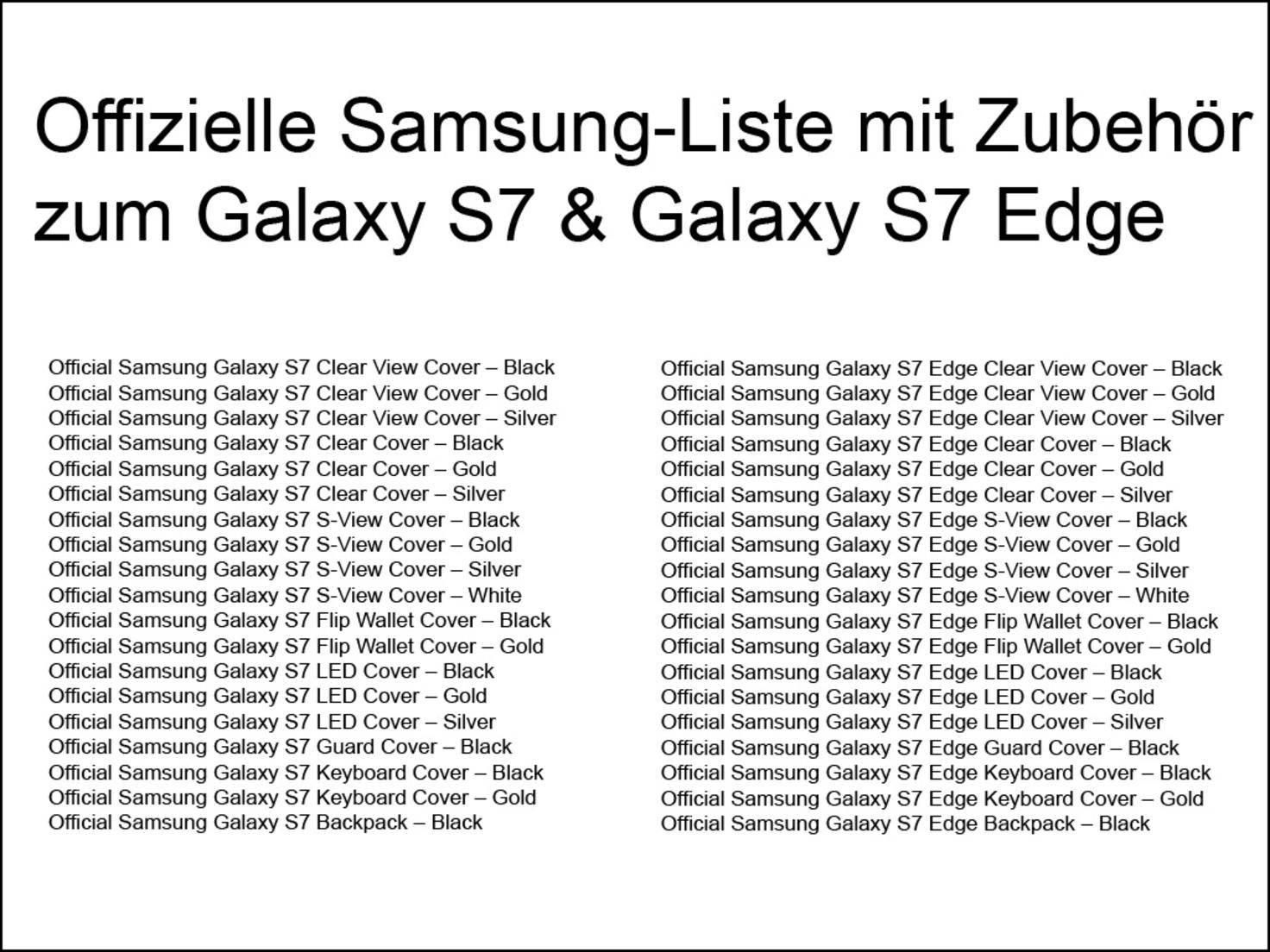 Samsung Zubehör