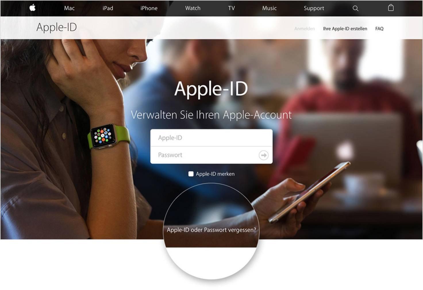 Iphone Deaktiviert Und Apple Id Vergessen - Test