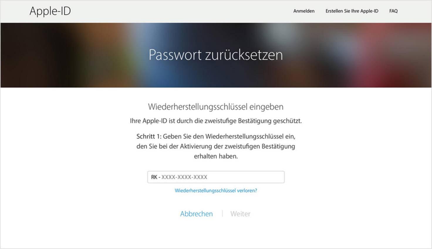 Apple-ID vergessen: 4 Tipps für die Wiederherstellung