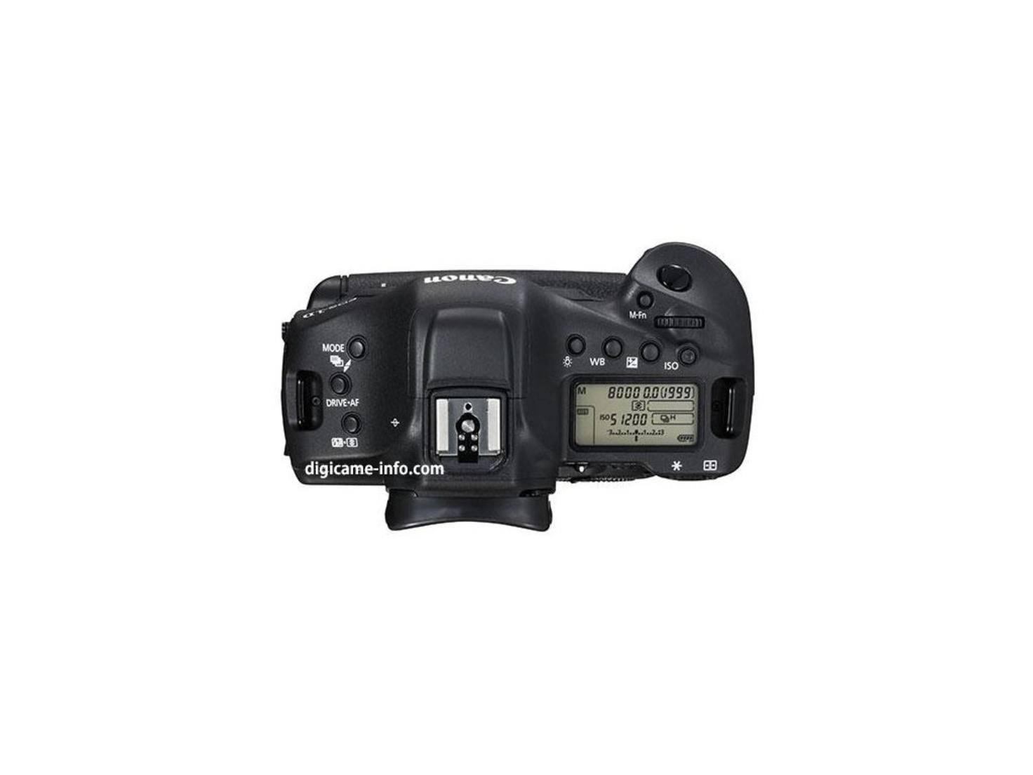 Schon vor der offiziellen Ankündigung gibt es Bilder von der neuen EOS-1D X.