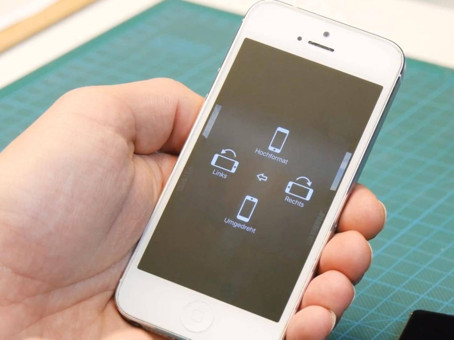 DIY-Smartphone-Beamer 4