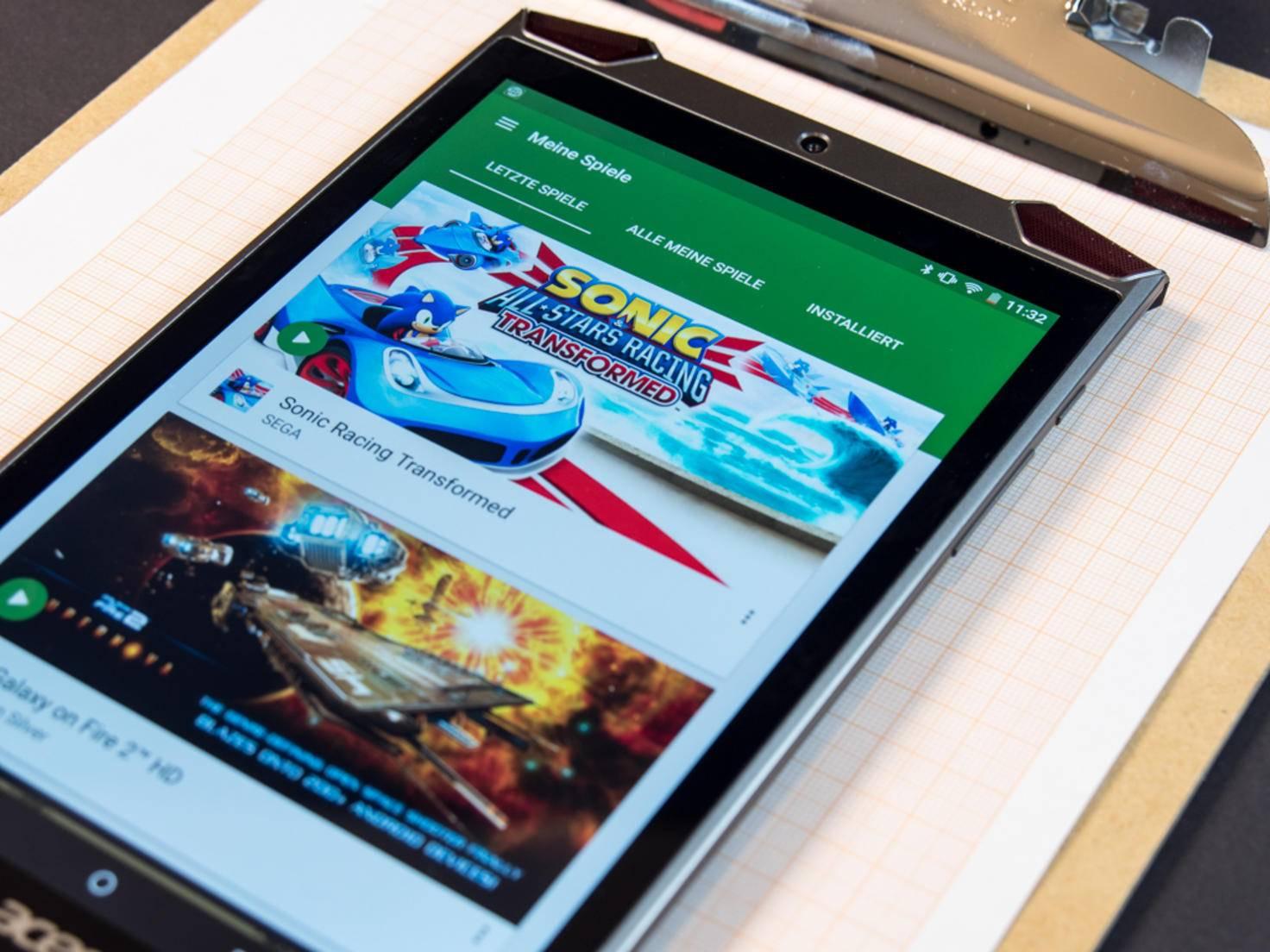 Das Design unterstreicht den Gaming-Anspruch.
