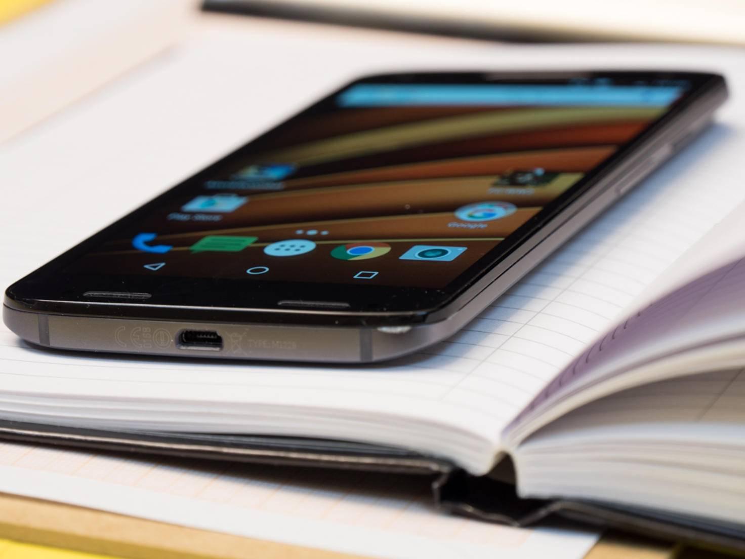 Das Moto X Force ist nicht das schlankste Smartphone, ...
