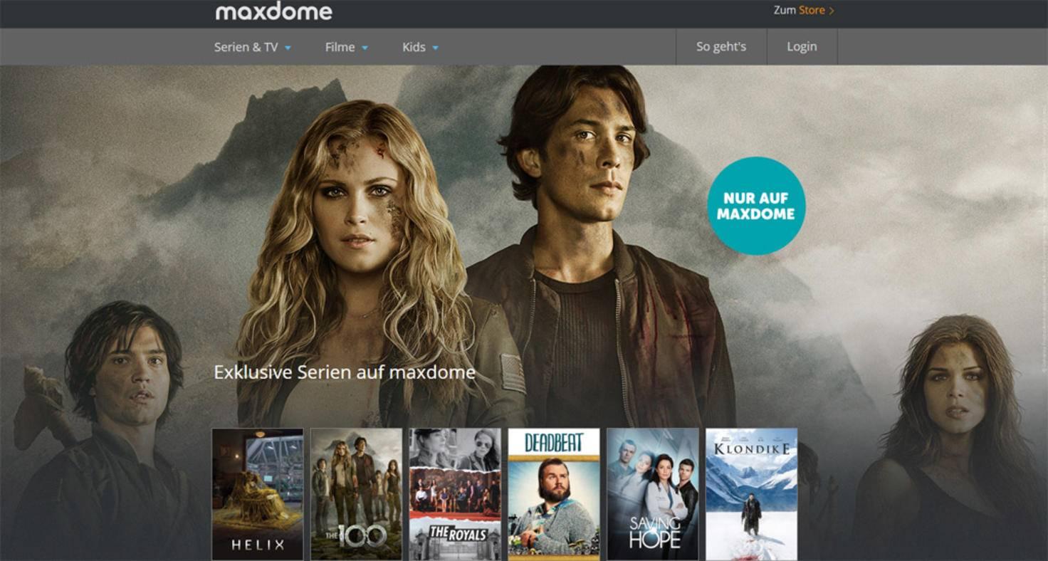 Vergleich Maxdome Netflix