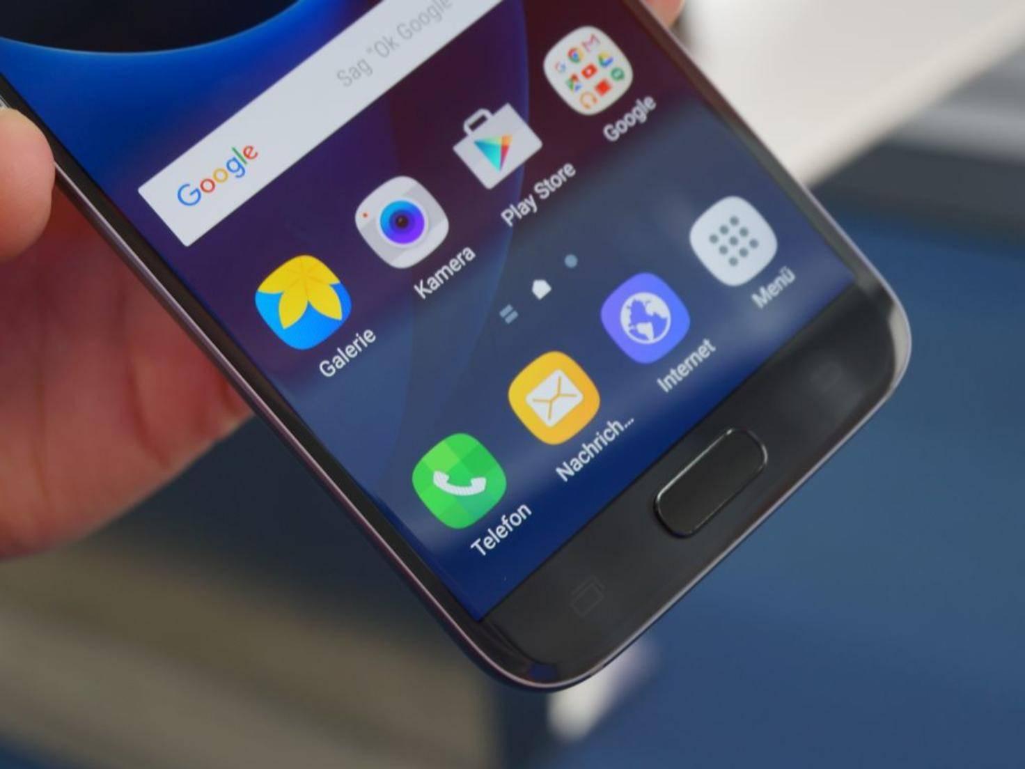 NICHT VERWENDEN VOR 21. FEBRUAR! Samsung Galaxy S7 5