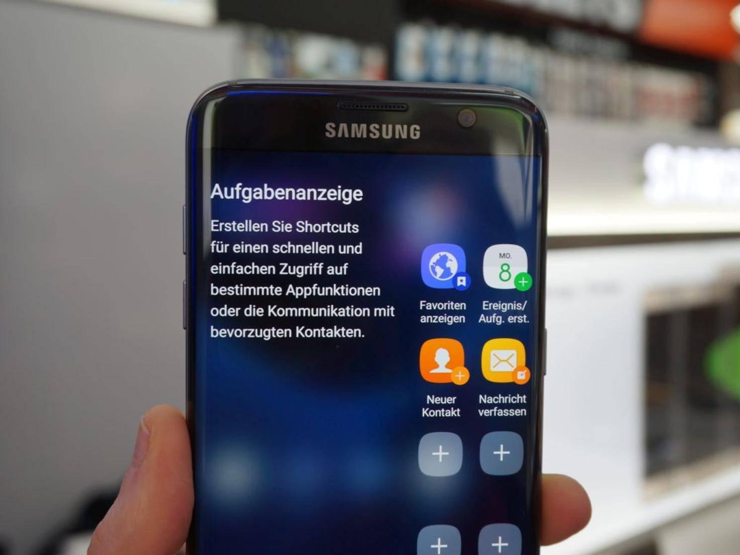 NICHT VERWENDEN VOR 21. FEBRUAR! Samsung Galaxy S7 Edge 24
