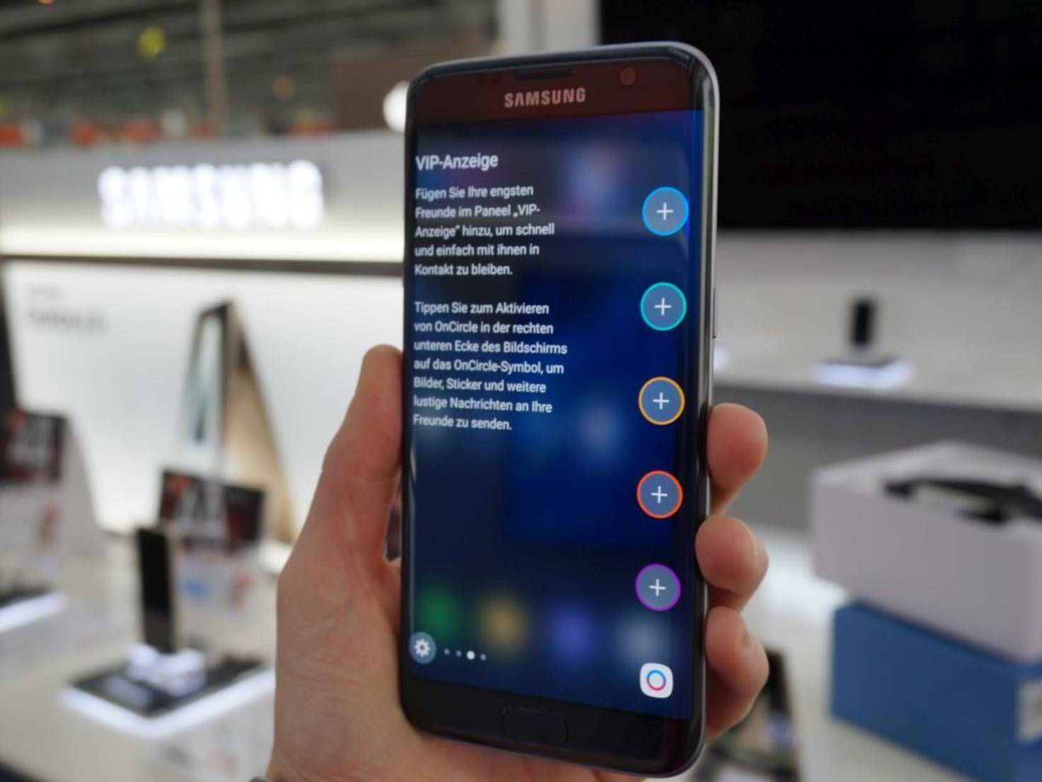 NICHT VERWENDEN VOR 21. FEBRUAR! Samsung Galaxy S7 Edge 25