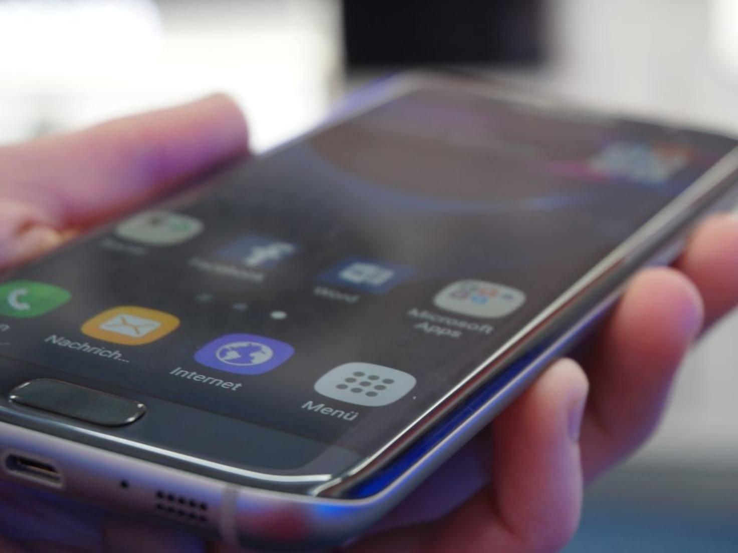 NICHT VERWENDEN VOR 21. FEBRUAR! Samsung Galaxy S7 Edge 4