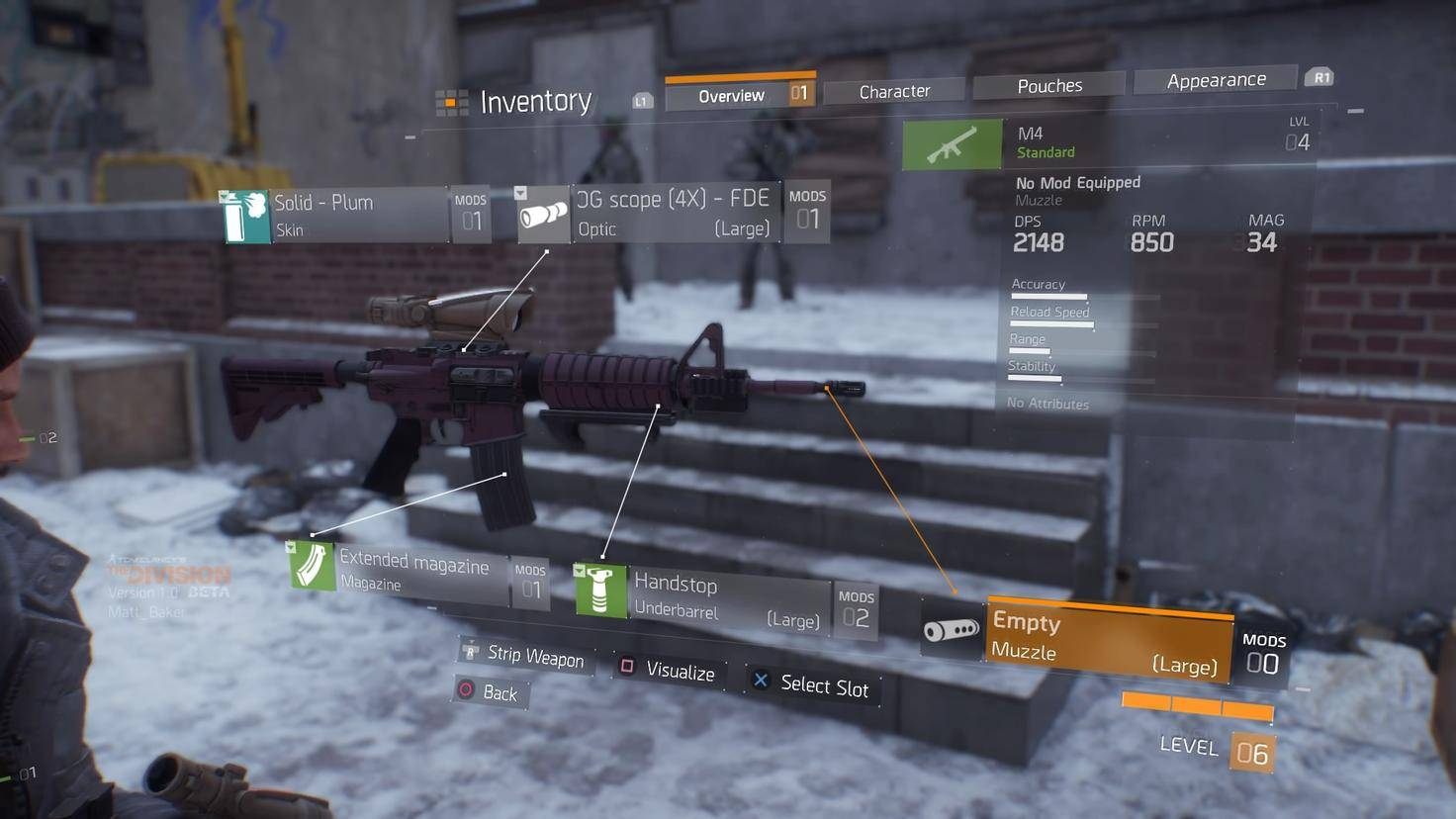 Tom Clancy's The Division Beta