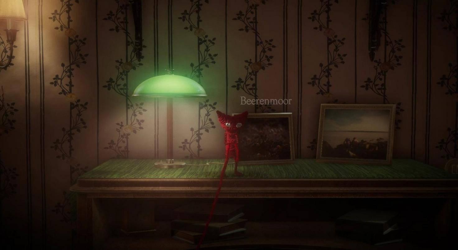 Yarny besucht die Erinnerungen einer alten Frau über Bilder in ihrem Haus.