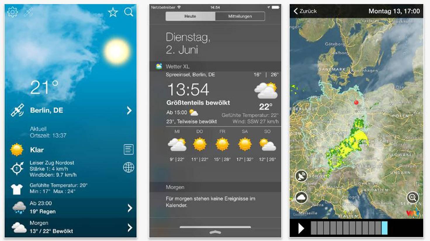 Wetter Deutschland XL Pro-iTunes-exovoid sarl