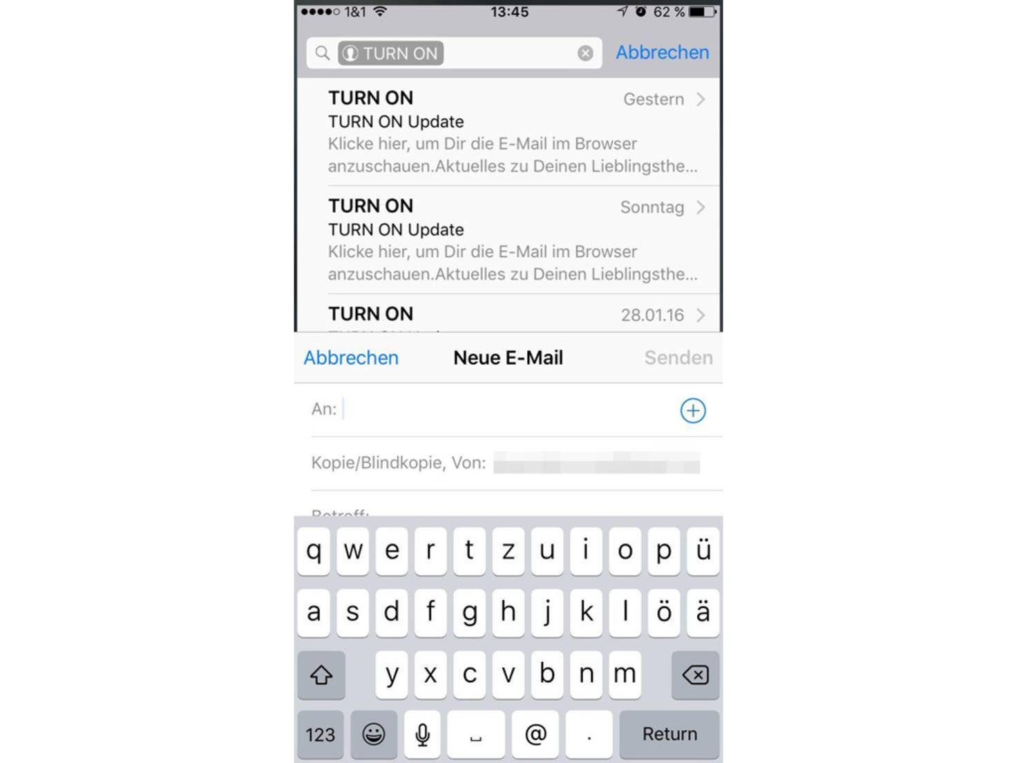 iOS-Email