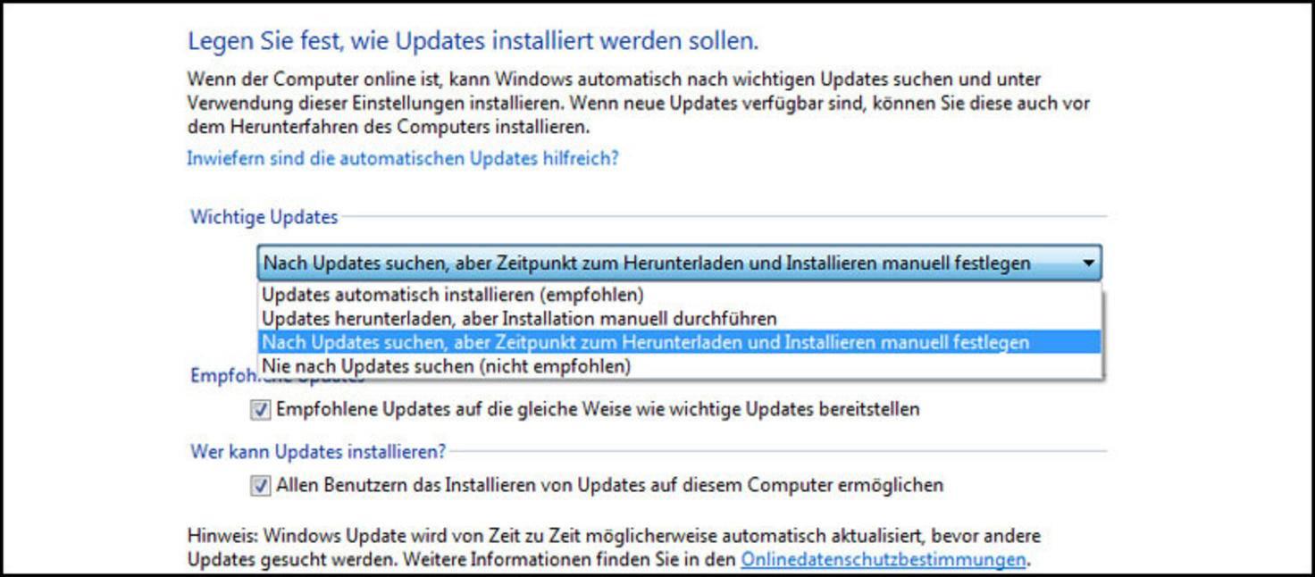 Windows 10 Zwangsupdate