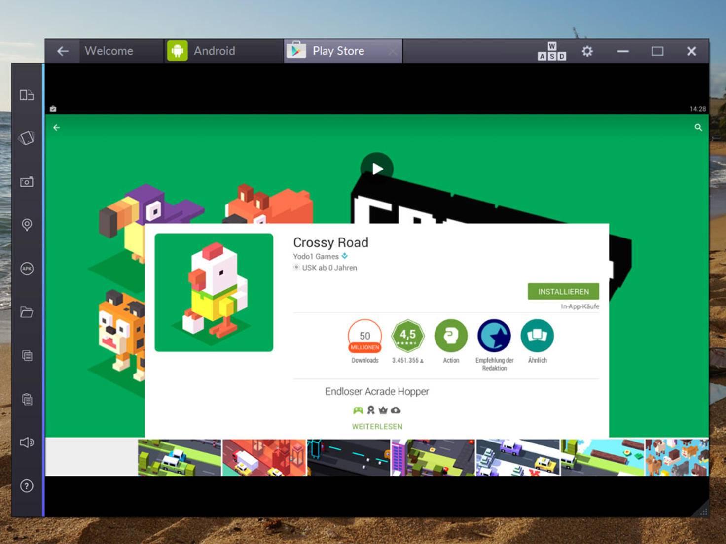 Android-Apps mit BlueStacks 2 auf dem PC oder Mac nutzen