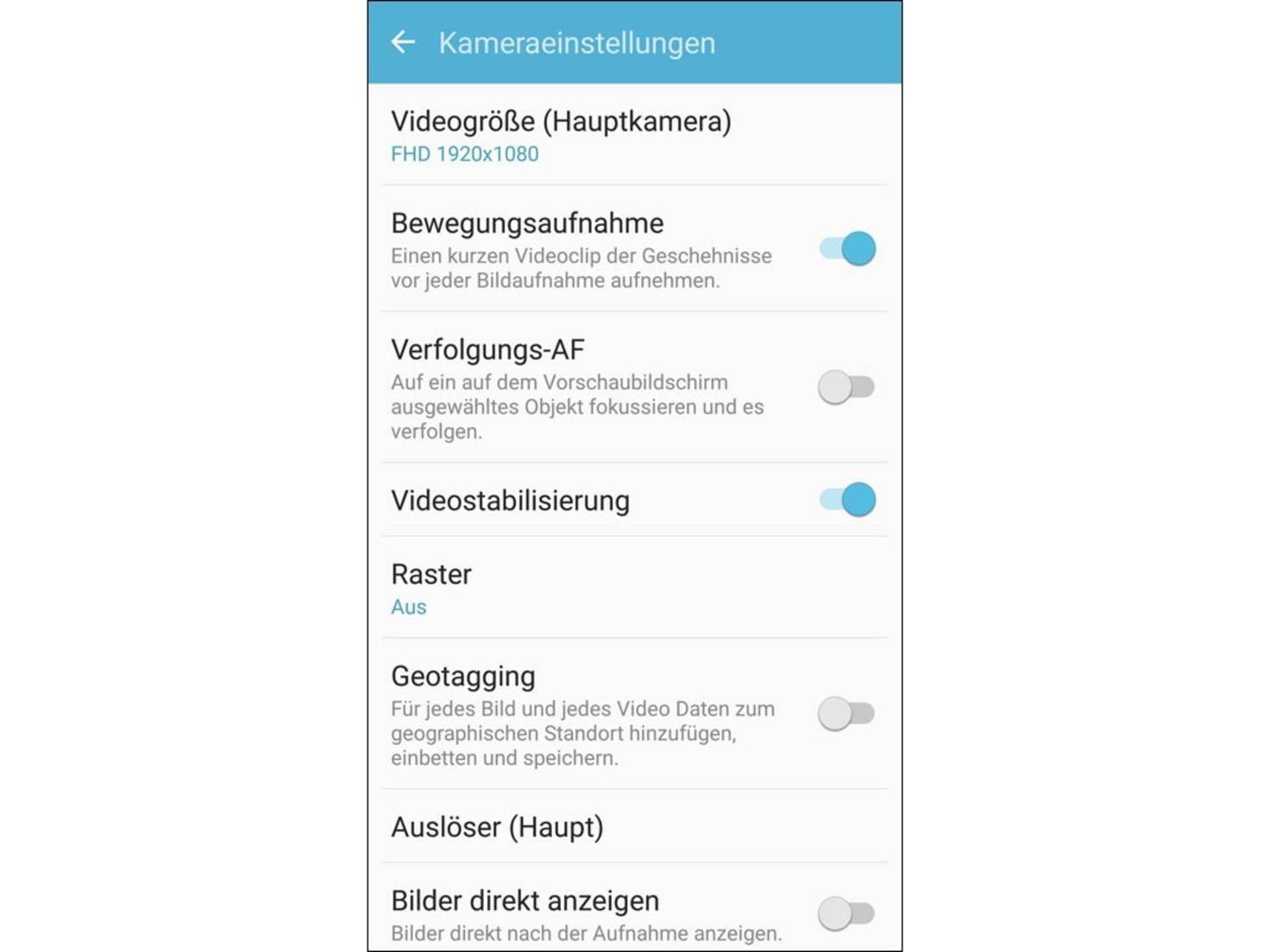 Samsung Galaxy S7 Screenshot 26
