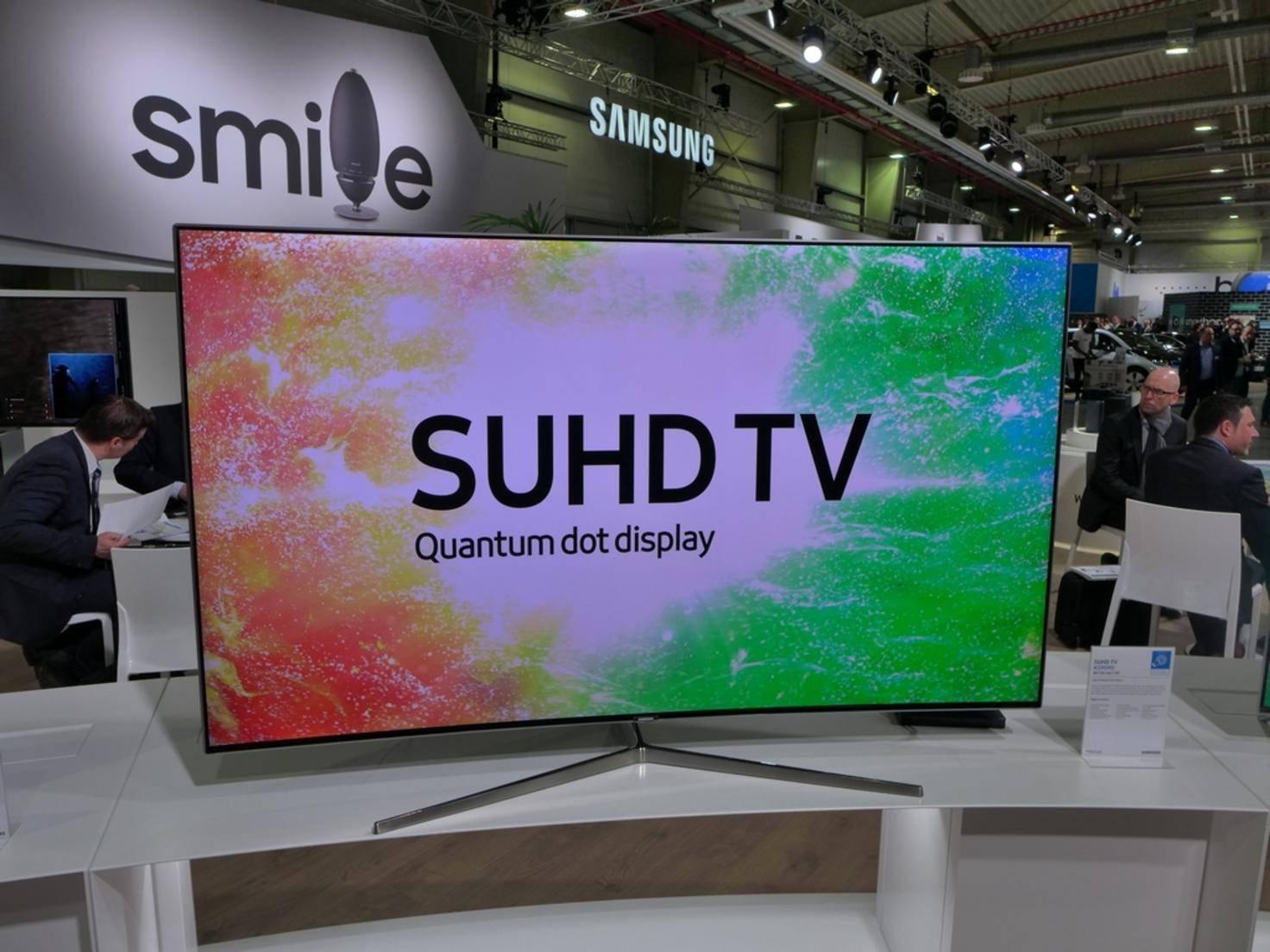 Mit seinen SUHD TVs möchte Samsung die OLED-Technik von LG angreifen.