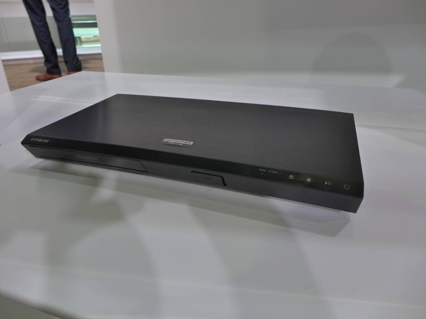 ...und der erste Ultra HD-Blu-ray Player.