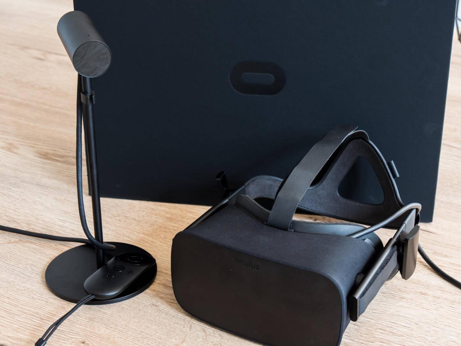 Die Oculus Rift ist hingegen schon da...