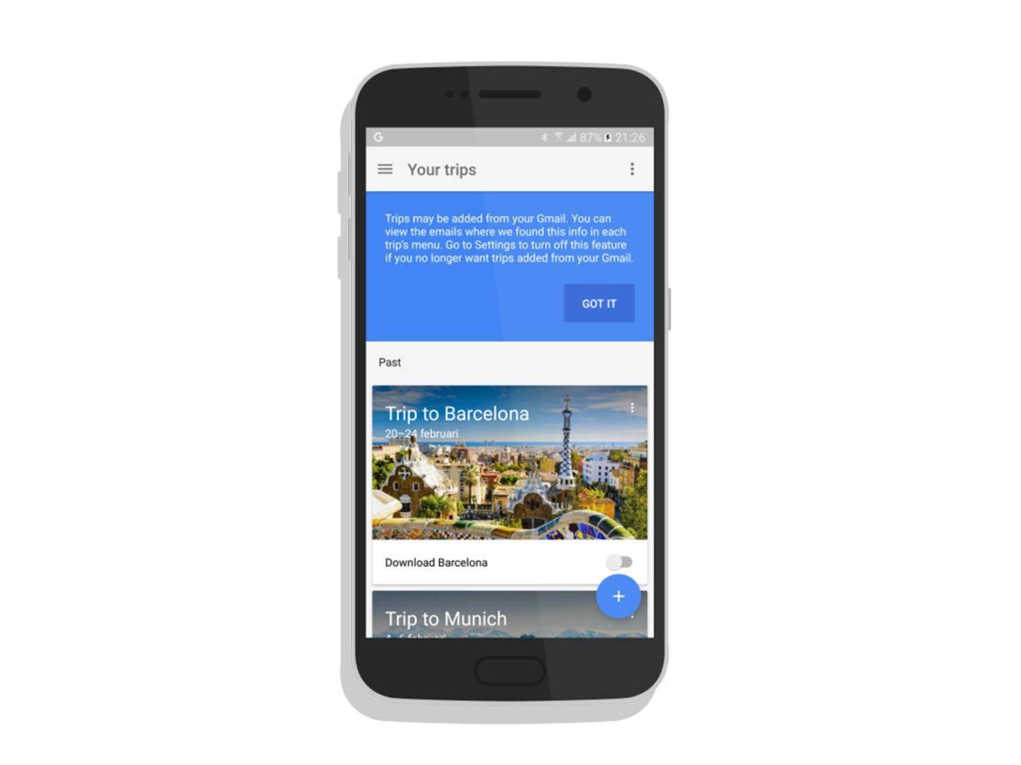 Google testet anscheinend eine neue Reise-App namens Trips.
