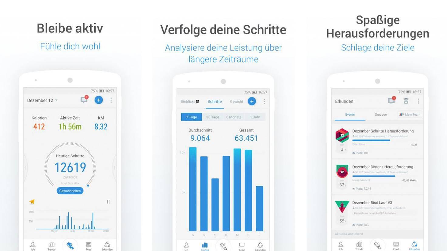 Pacer-Schrittzähler-App-Google PlayStore-Pacer Health